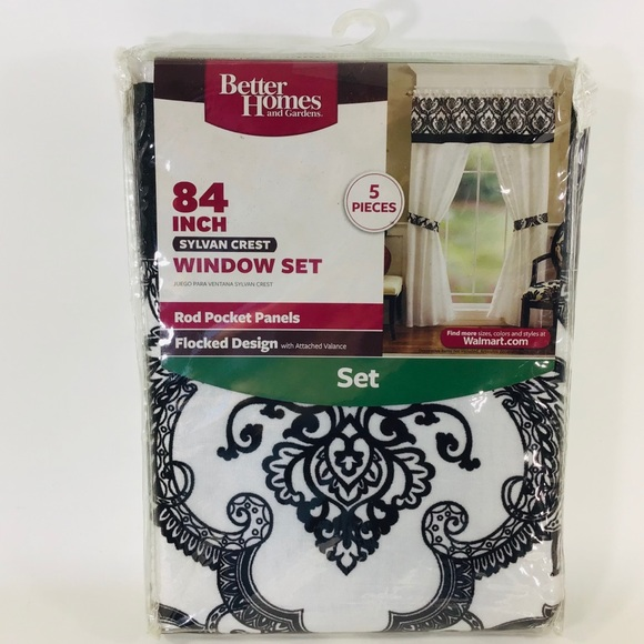 """Better Homes And Gardens Other - Window Set 5 pieces 84"""" Better Homes and Gardens"""